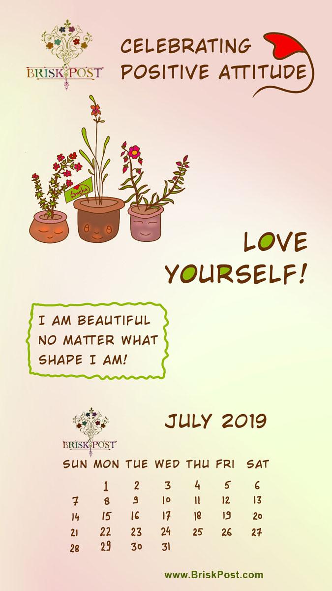July 2019 Calendar 675x1200