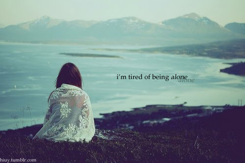 Quotes Wallpapers Love Sad Girls Alone 500x334