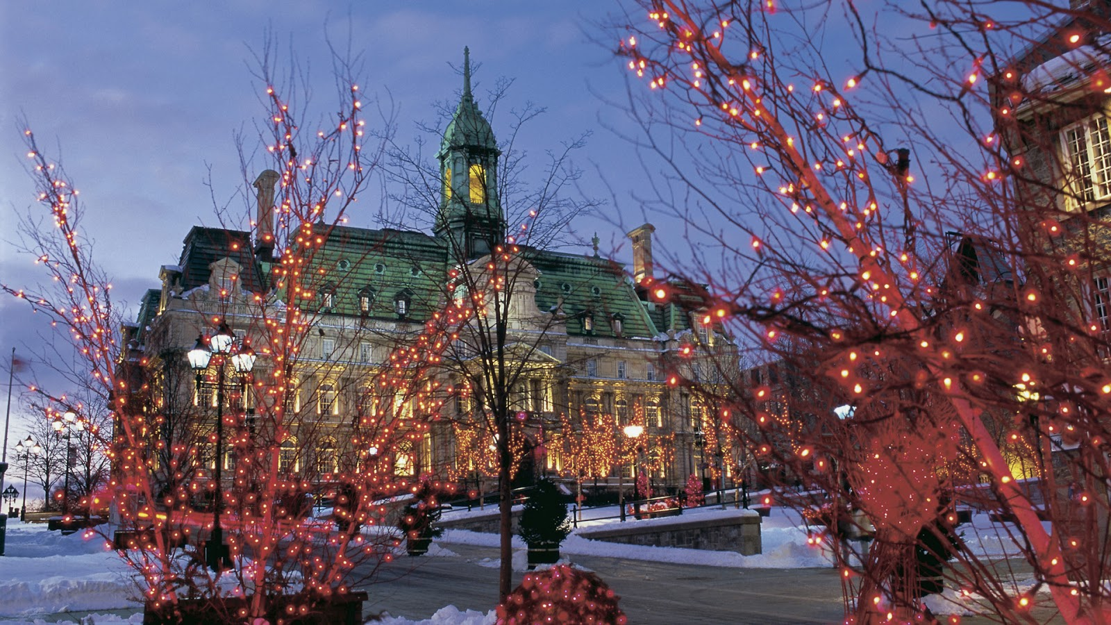 Beautifull Places Montreal City New Nice Pictures Wallpapers 2013 1600x900