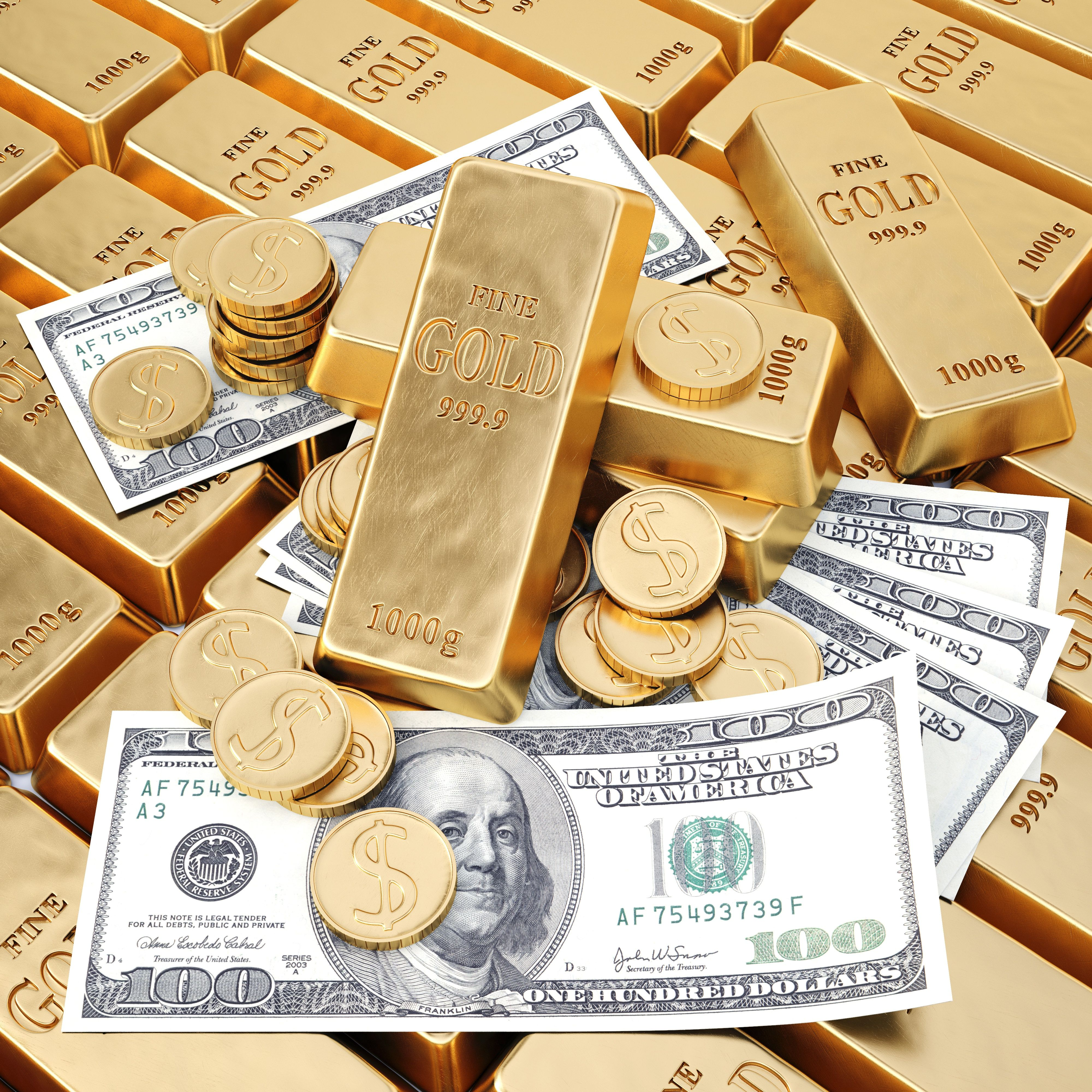 Money Gold Wallpapers   Top Money Gold Backgrounds 4000x4000