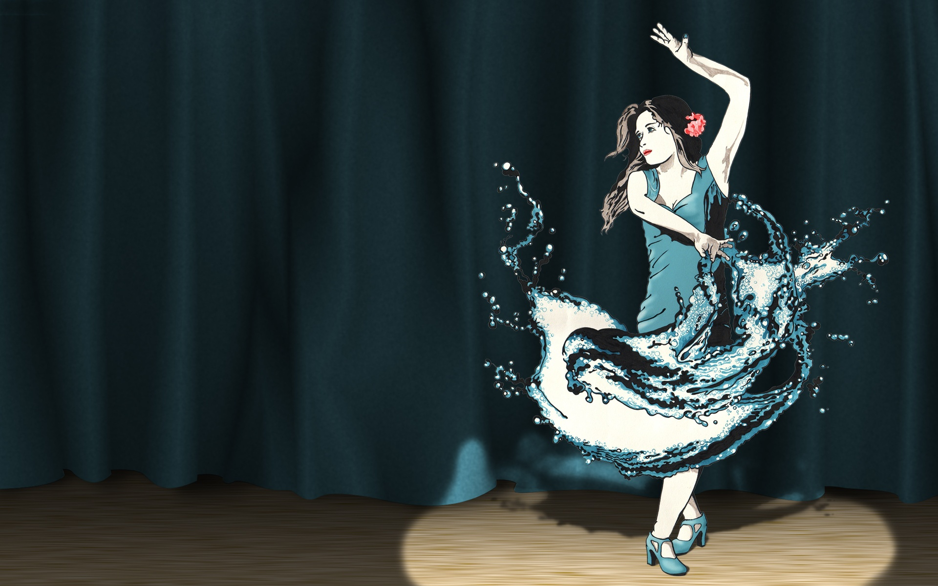 Splash Dance Wallpapers HD Wallpapers 1920x1200