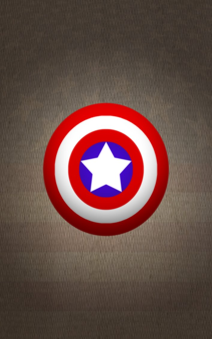 Captain America Shield Iphone Wallpaper Captain america wallpaper by 707x1131