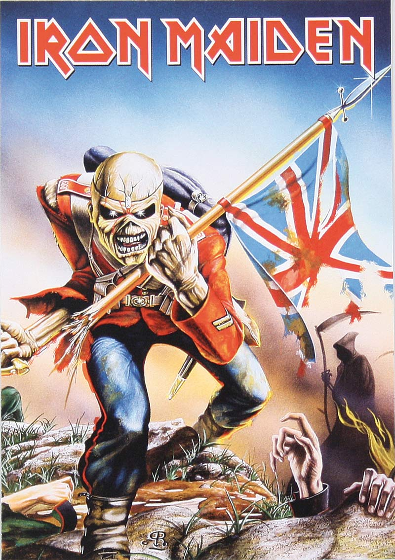 Iron Maiden The Trooper Wallpaper - WallpaperSafari