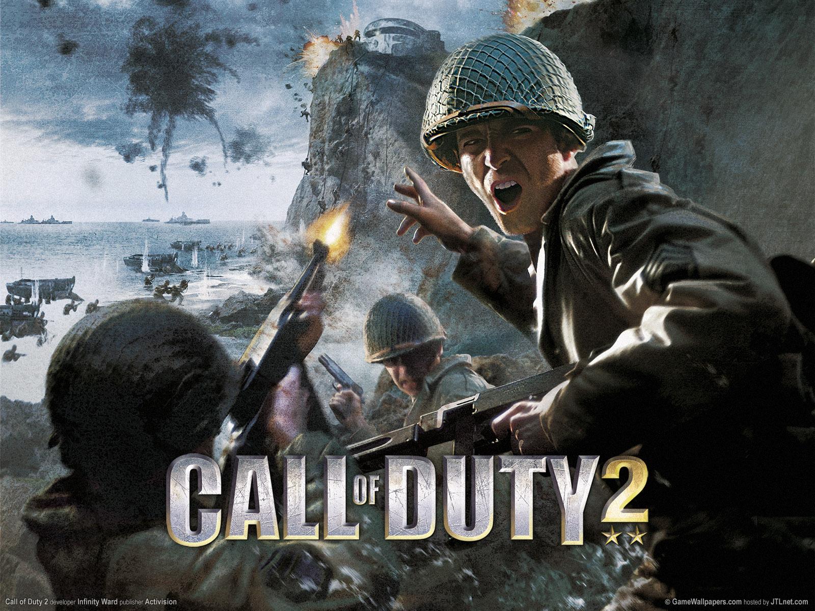 1600x1200 Call of Duty 2 desktop PC and Mac wallpaper 1600x1200