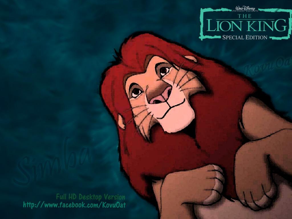 Lion King Wallpaper   Disney Wallpaper 34968680 1024x768