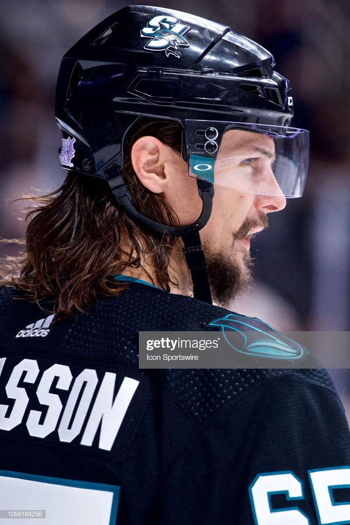 San Jose Sharks defenseman Erik Karlsson during the San Jose 683x1024