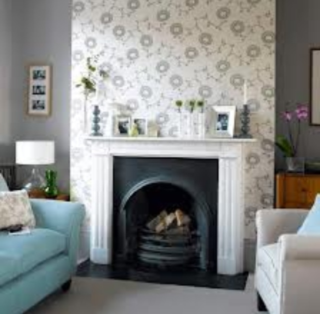 Buy And Sell Fireplace Accent Wall: Wallpaper Accent Wall
