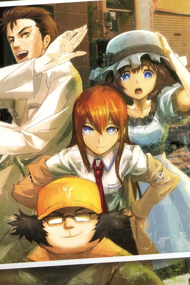 Japanese Anime Wallpaper STEINSGATE  1  Wallpaper 640x960