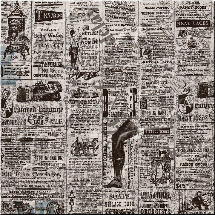 Vintage Newspaper Wallpaper Old newspaper by inorilee 720x720