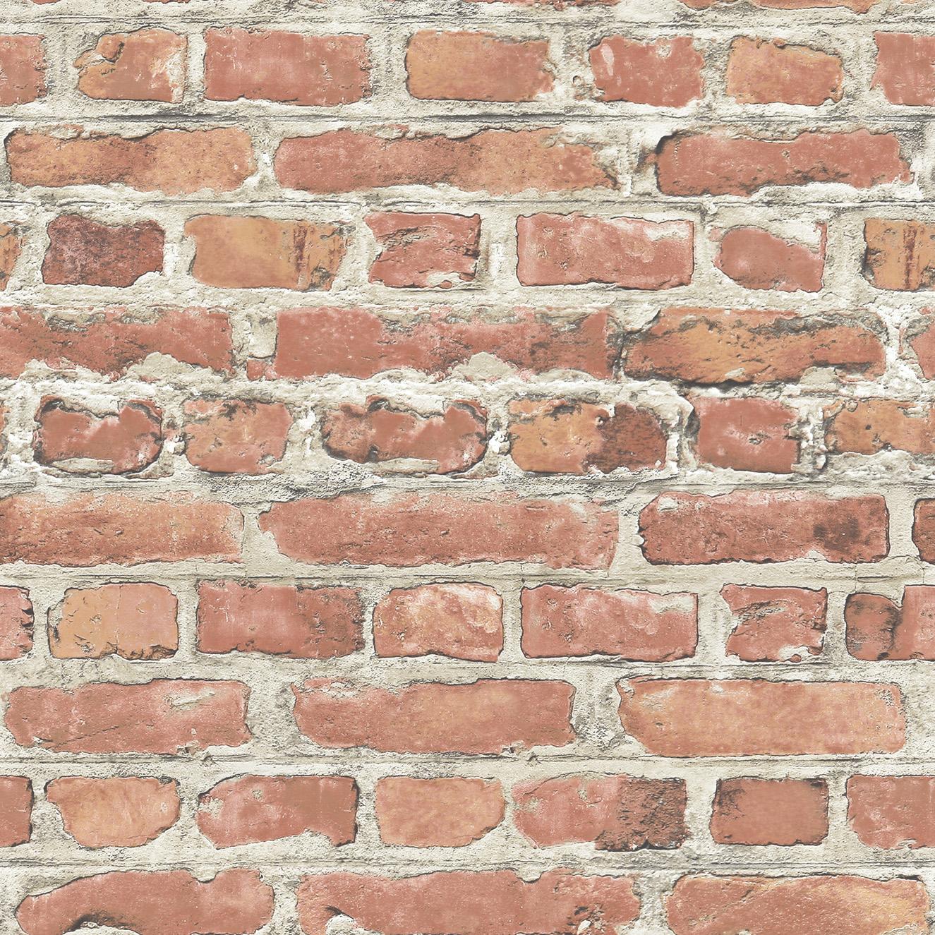 Rasch Terracotta Brick Wallpaper 235203 Go Wallpaper UK 1325x1325