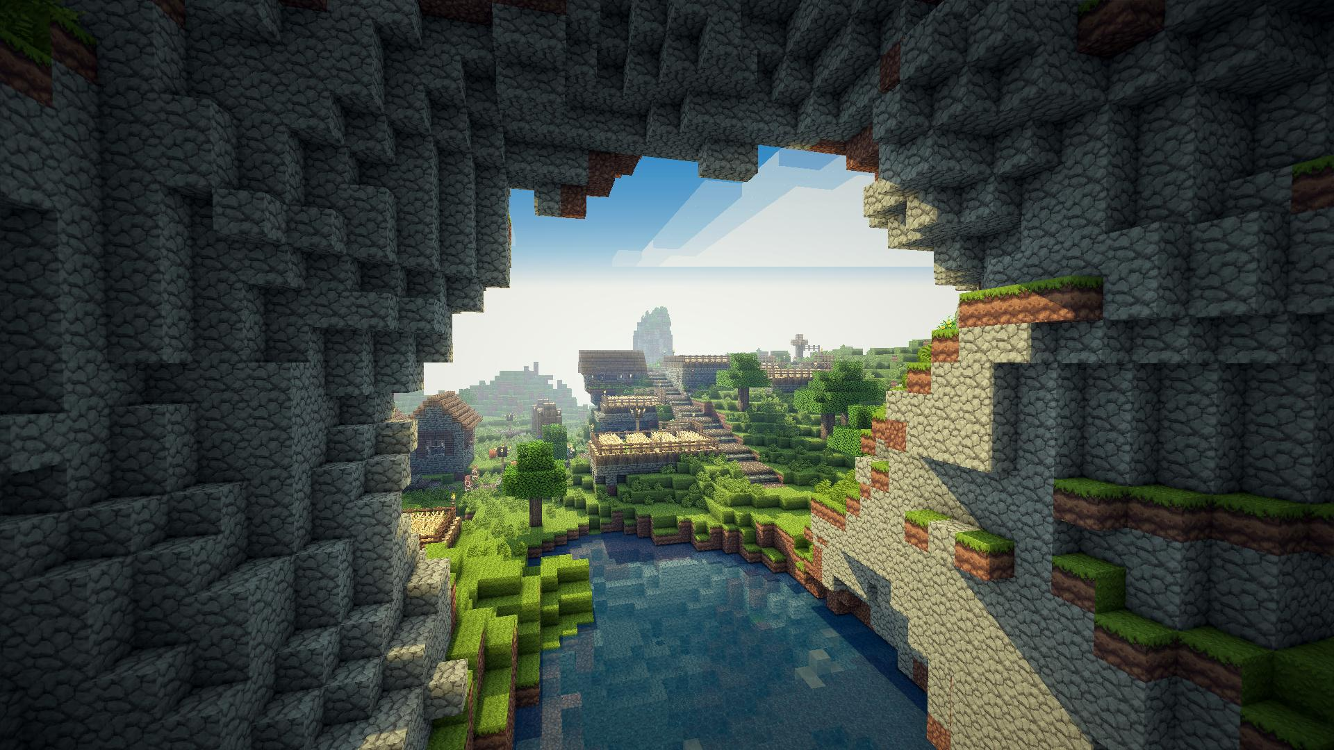 minecraft wallpaper   Large Images 1920x1080