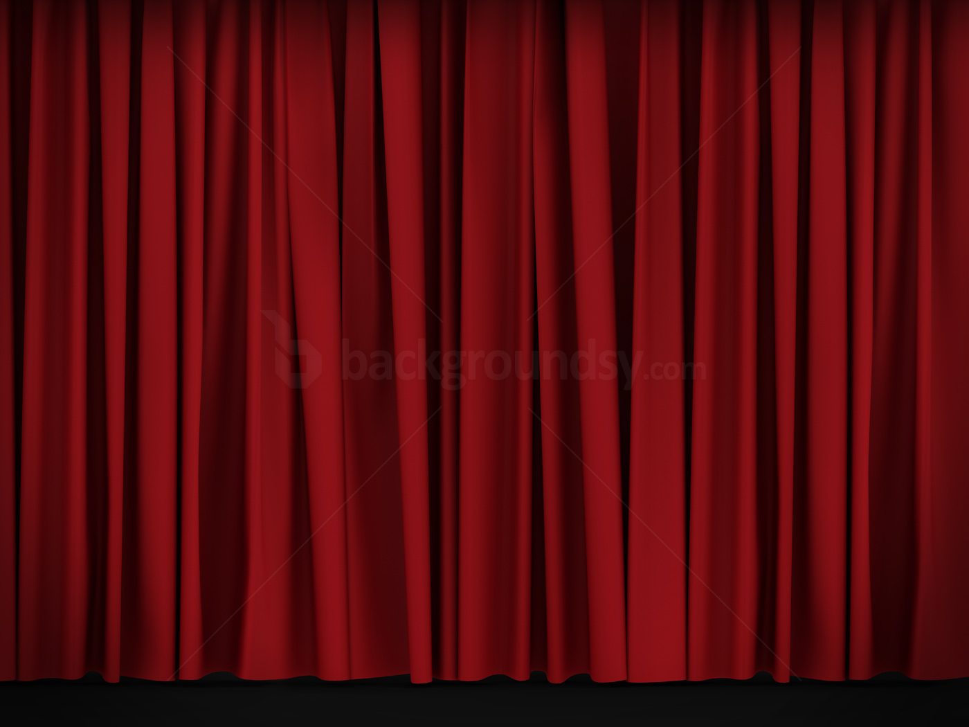 1400x1050 Red Curtain Background