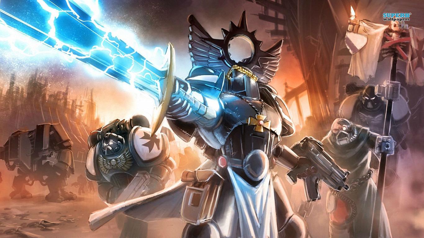 Warhammer 40000 Space Marine Game Wallpapers 2818 Game   bwalles 1366x768