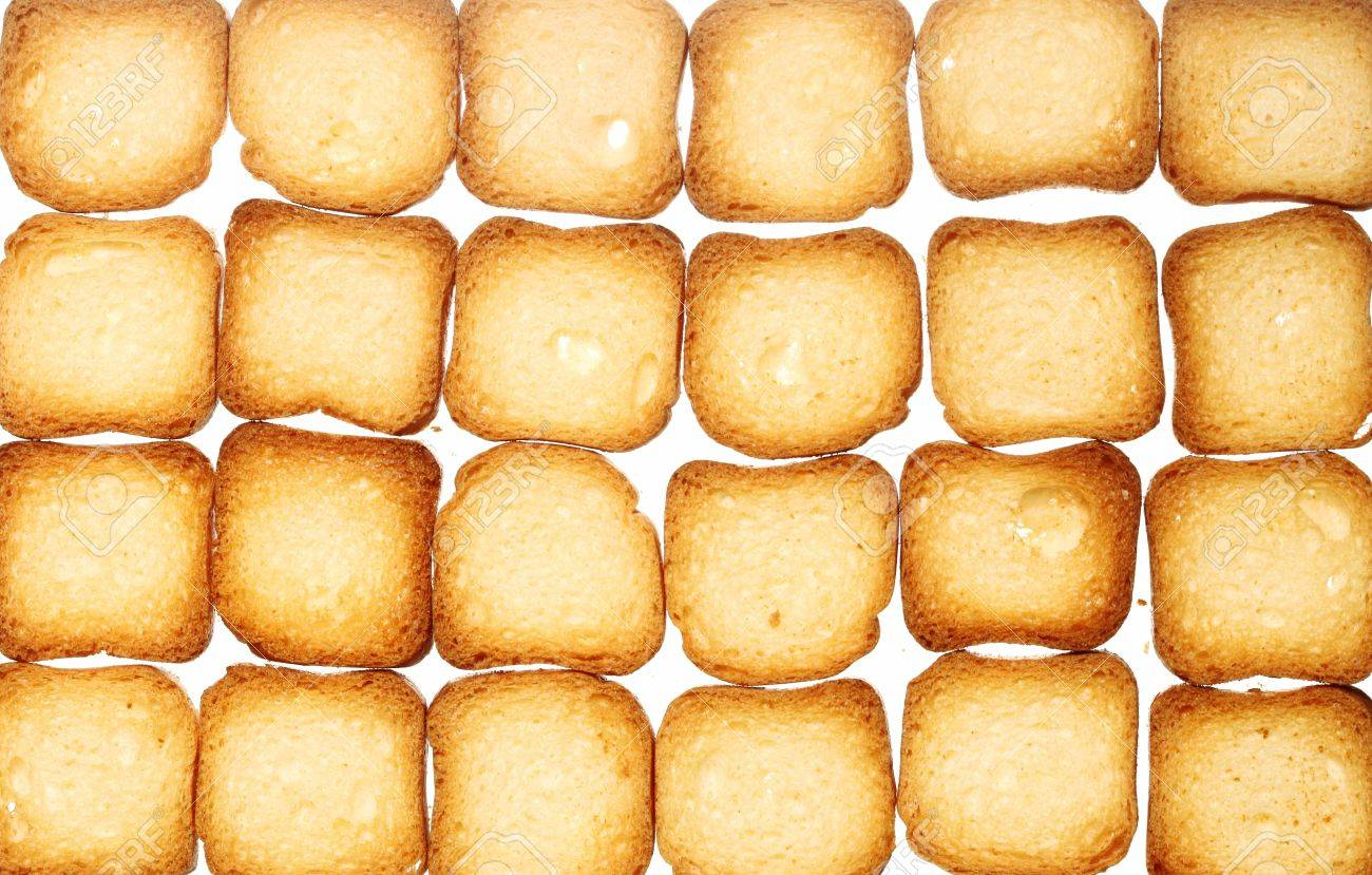 Many Small Dried Rusks Bread Loaf Toast Biscuits As Texture 1300x829