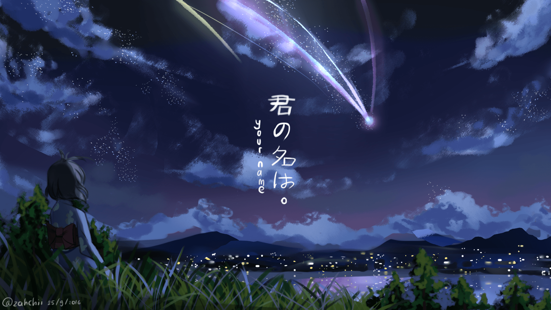 Your Name Anime Wallpapers   Top Your Name Anime Backgrounds 1920x1080