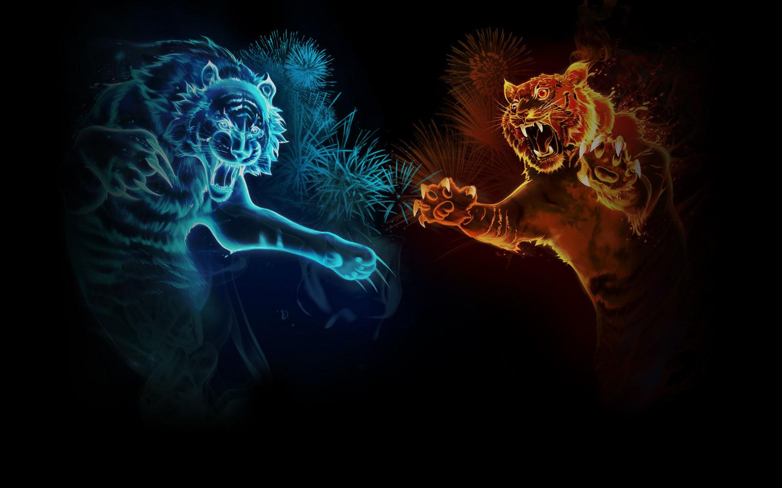72 Cool Tiger Backgrounds On Wallpapersafari