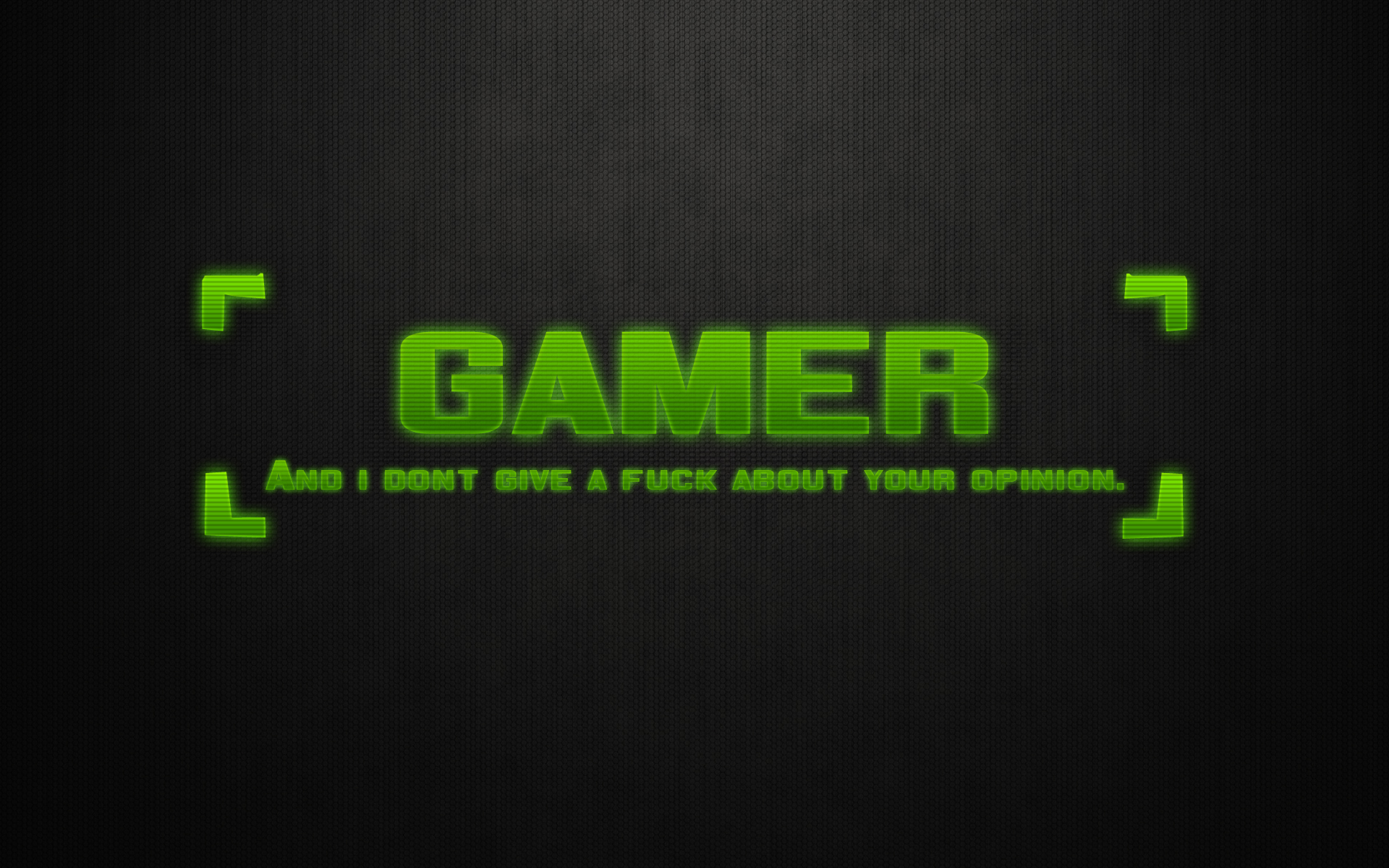 text gamers gamer holograph for all my HD Wallpaper   Games 905604 1920x1200