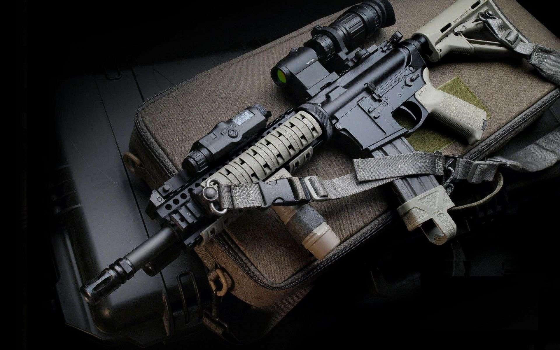 M4 Sniper Gun Wallpapers Hd Wallpapers 1920x1200