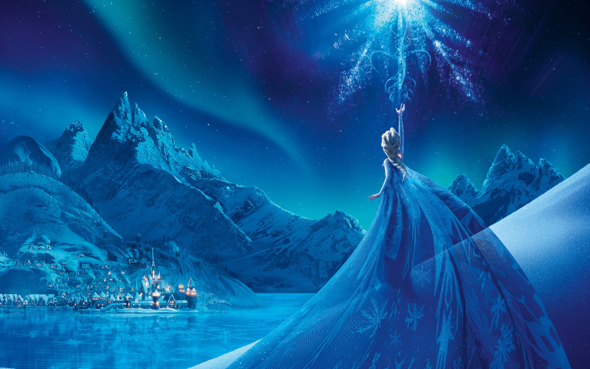 Frozen wallpapers 1920x1200