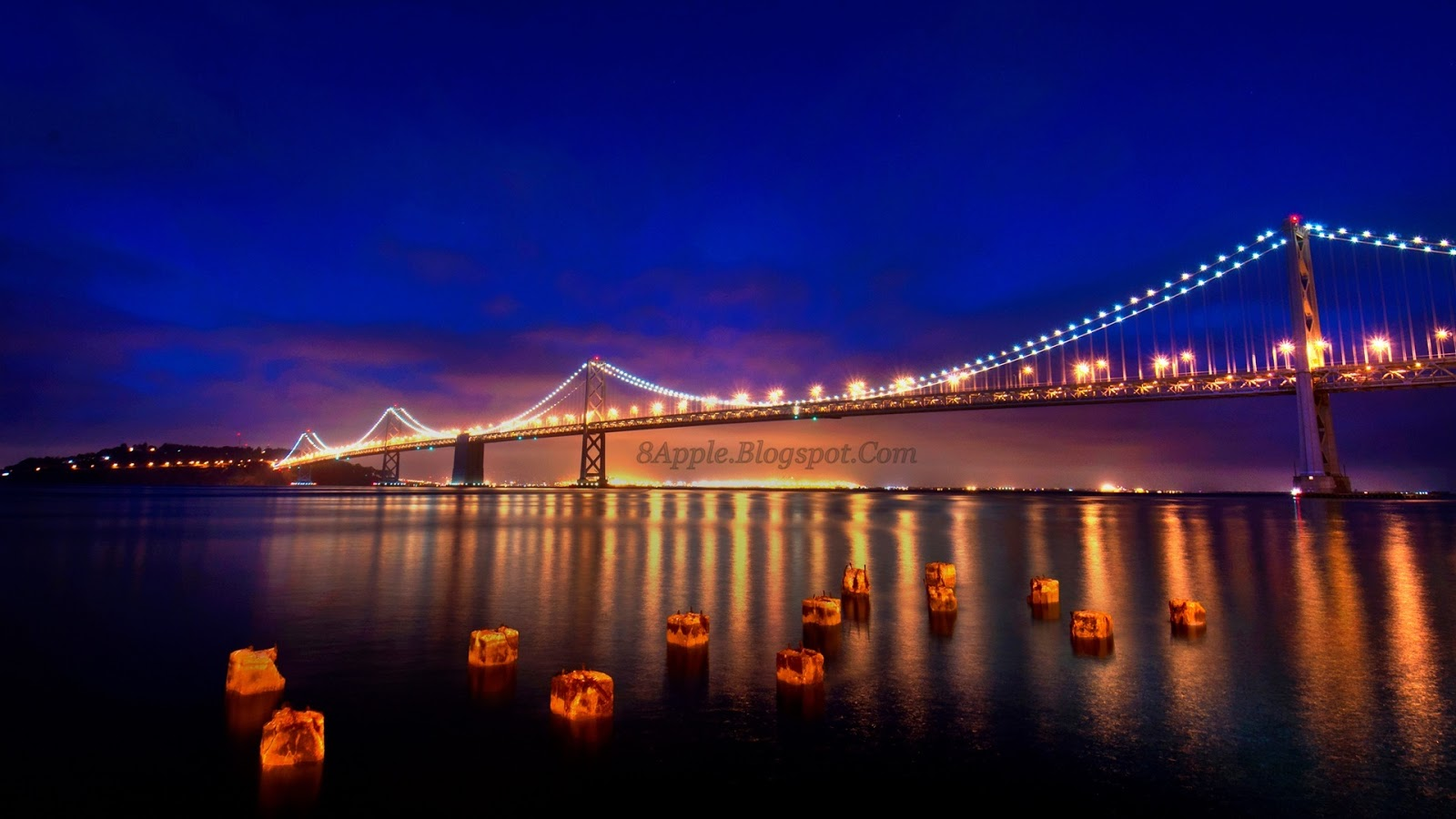 SAN FRANCISCO NIGHTS 1920x1080 HD Wallpaper HD Wallpaper 1600x900