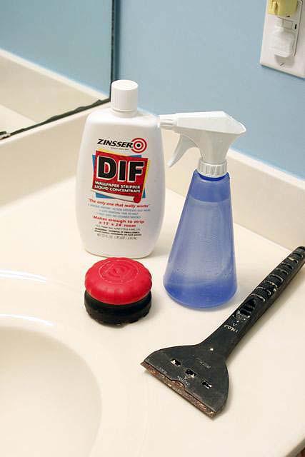 fabric softener to remove wallpaper 427x640