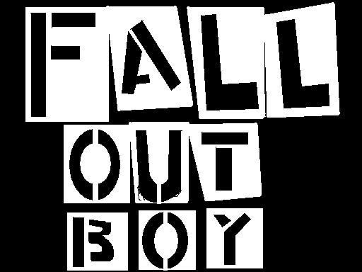 fall out boy logo wallpaper wallpapersafari