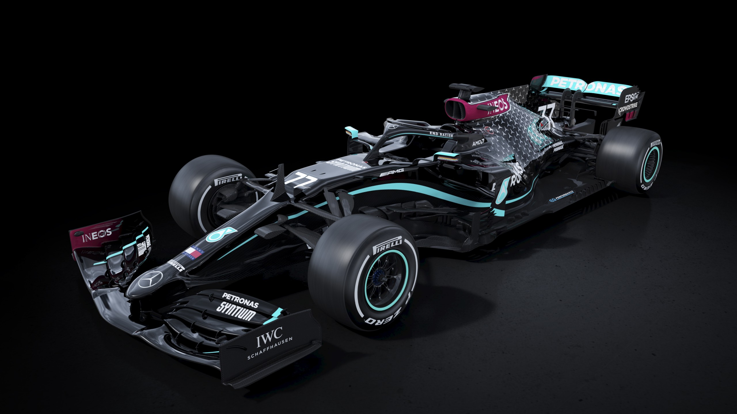 Mercedes AMG F1 W11 EQ Performance 2020 4K 2 Wallpaper HD Car 2560x1440