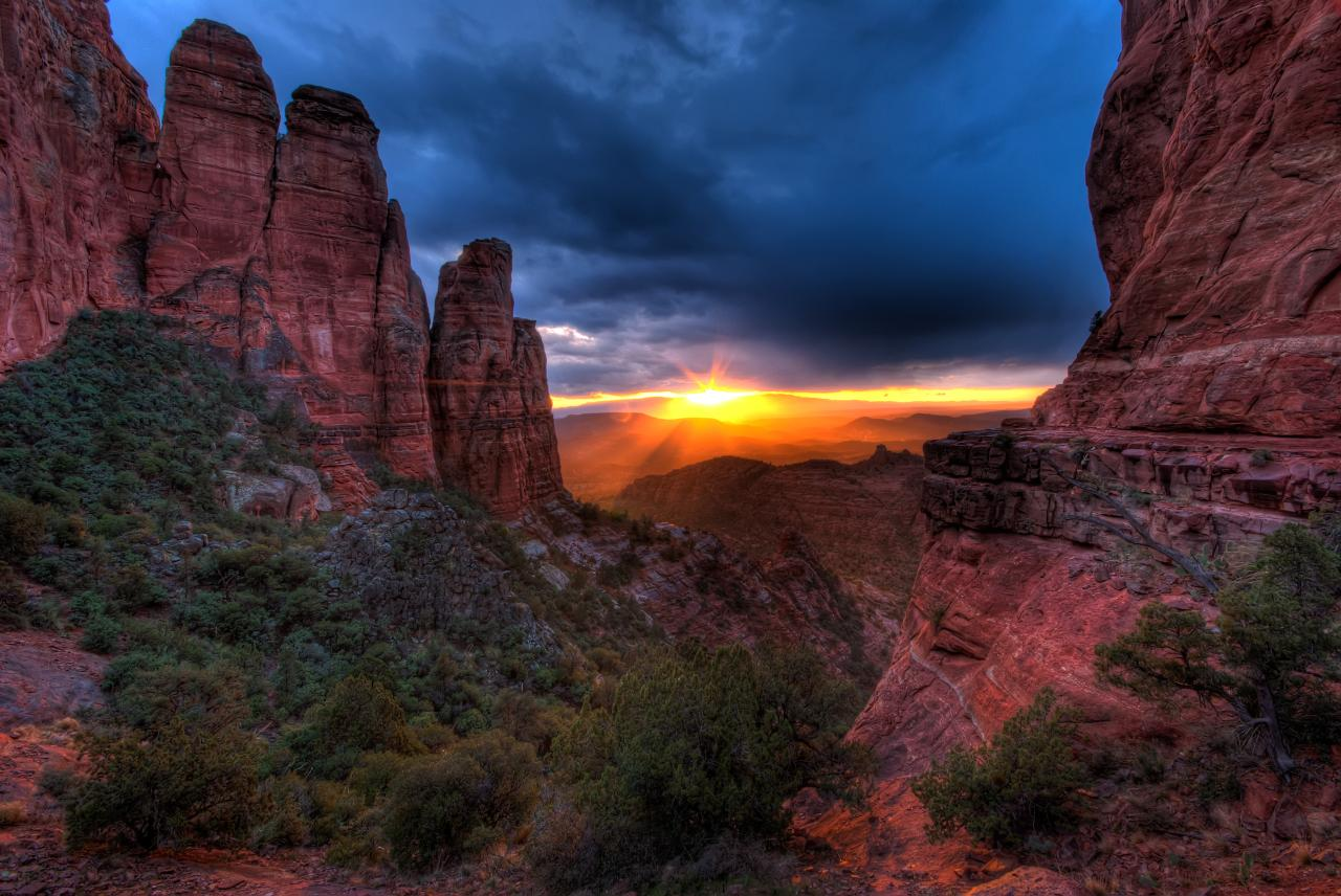 Cathedral Sunset   Sedona AZ Michael Wilson   Featured 1280x856