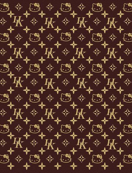 Louis Vuitton Hello Kitty Wallpaper for HTC Windows Phone 8S 450x590