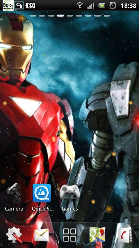 47 Iron Man Live Wallpaper On Wallpapersafari