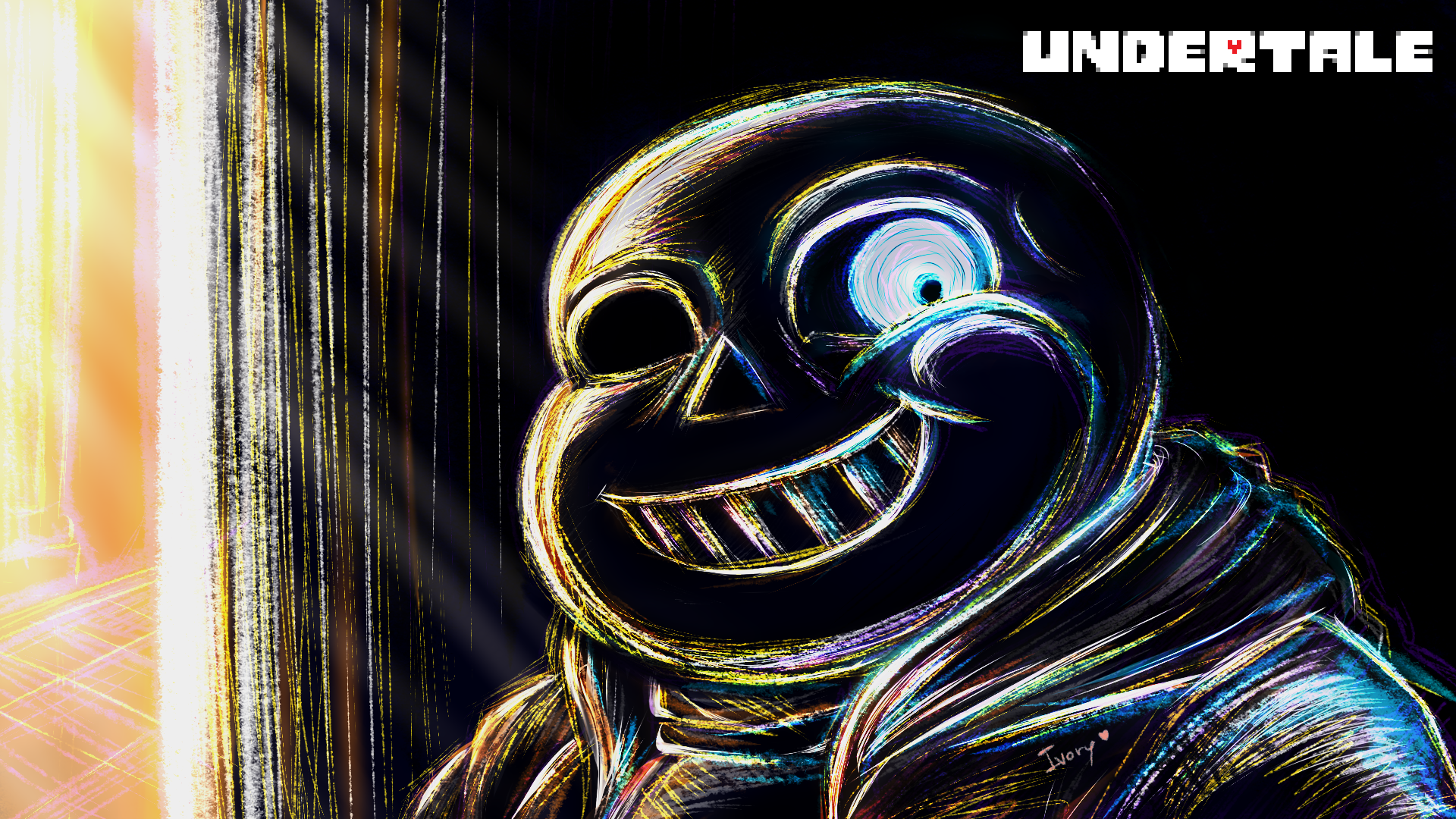 Sans Youre Gonna Have a Bad Time   Undertale by Blakmy 1920x1080