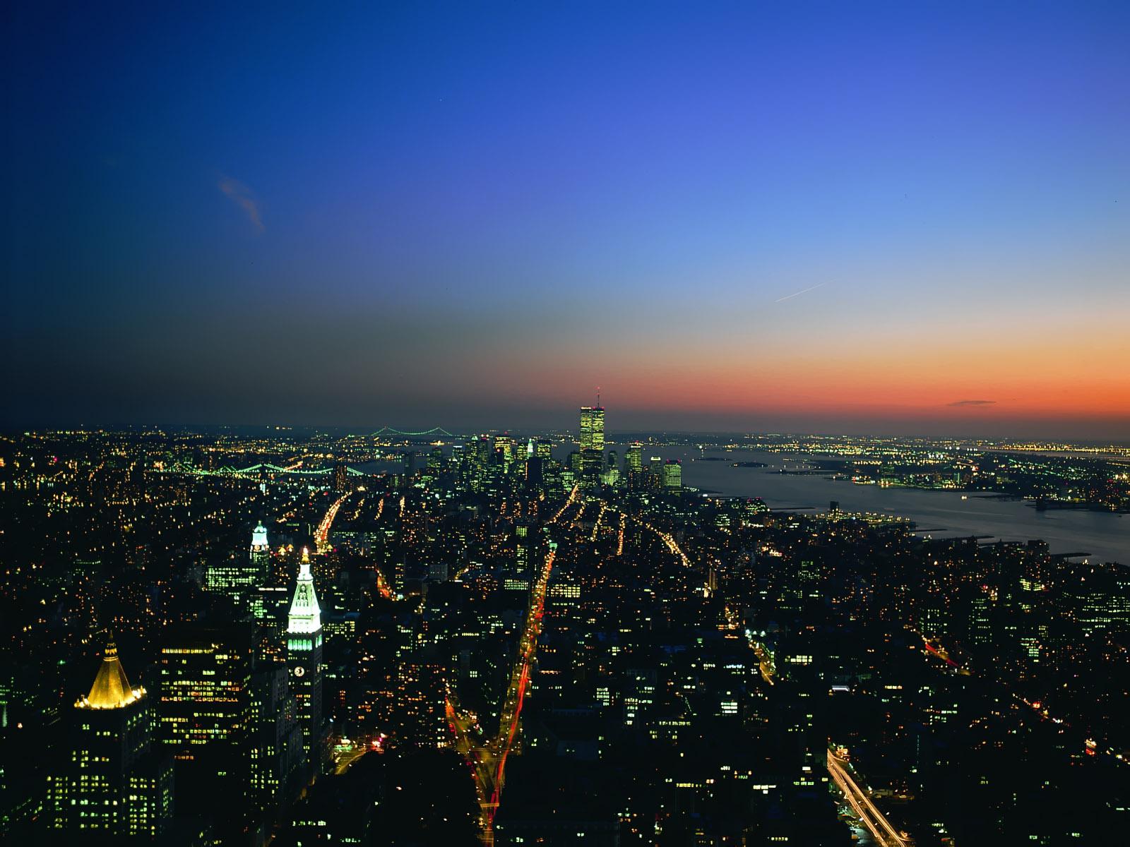 Night City Lights Wallpaper Hd Night city lights   hd 1600x1200