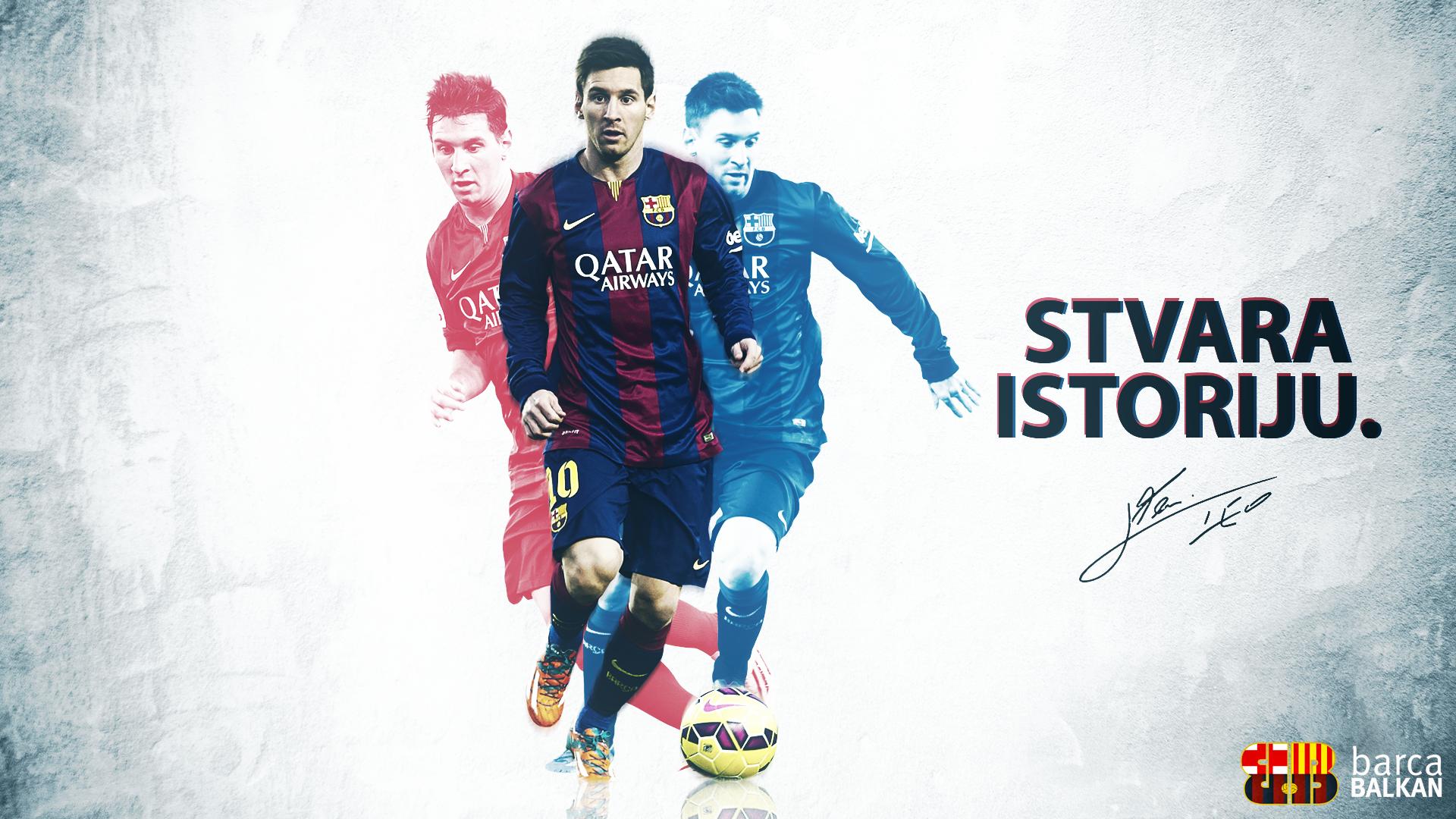 Lionel Messi 2015 HD wallpaper by SelvedinFCB 1920x1080