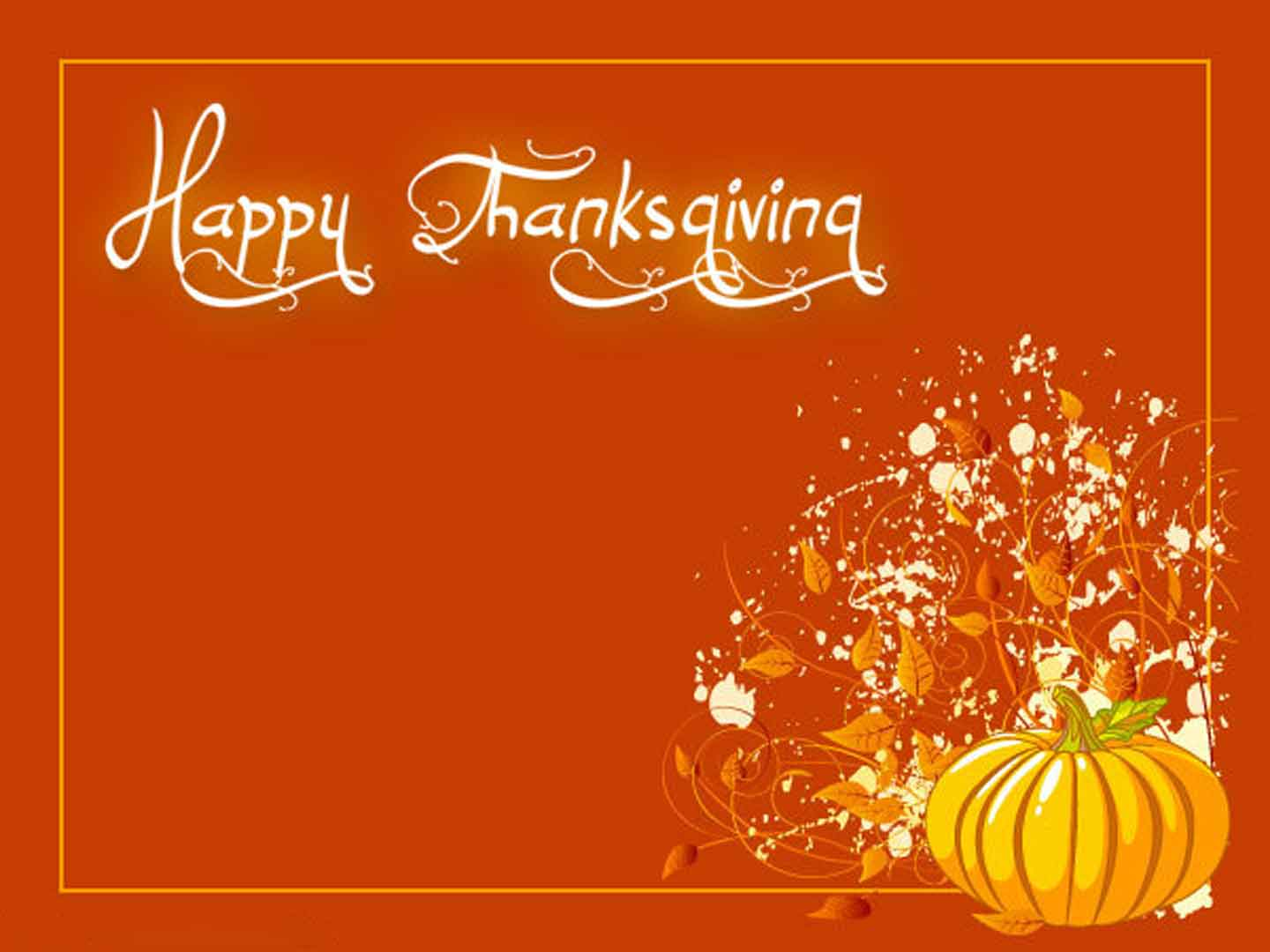 Simple Happy Thanksgiving Wallpaper Wallpaper   Happy Thanksgiving 1440x1080