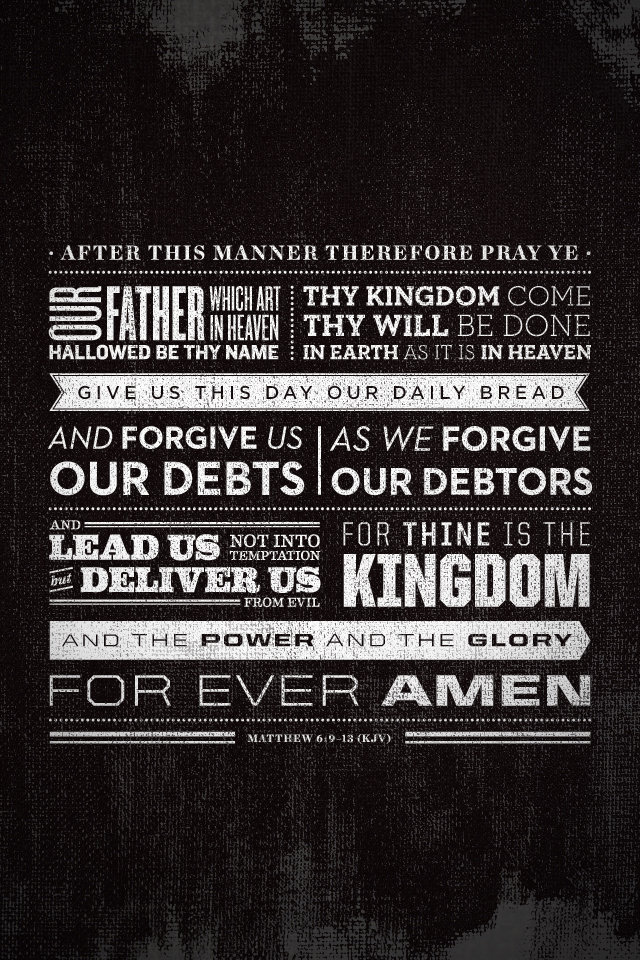 the lords prayer wallpaper