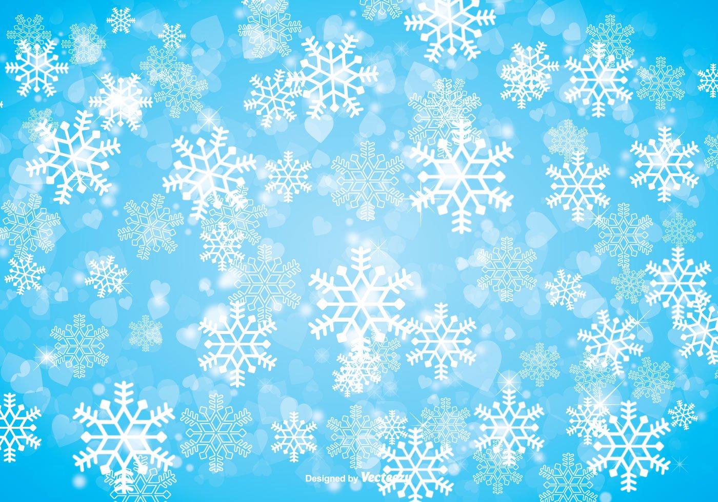 Winter Snowflake Background   Download Vector Art 1400x980