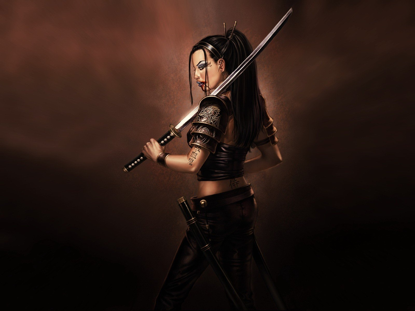 Women Samurai Wallpaper 1600x1200 Women Samurai 1600x1200
