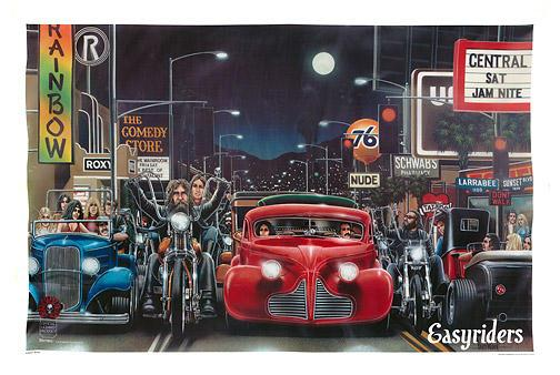 David Mann Easy Rider Art Joy Studio Design Gallery   Best Design 504x338
