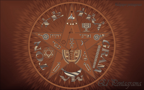esoteric pentagram wallpaper Flickr   Photo Sharing 500x313