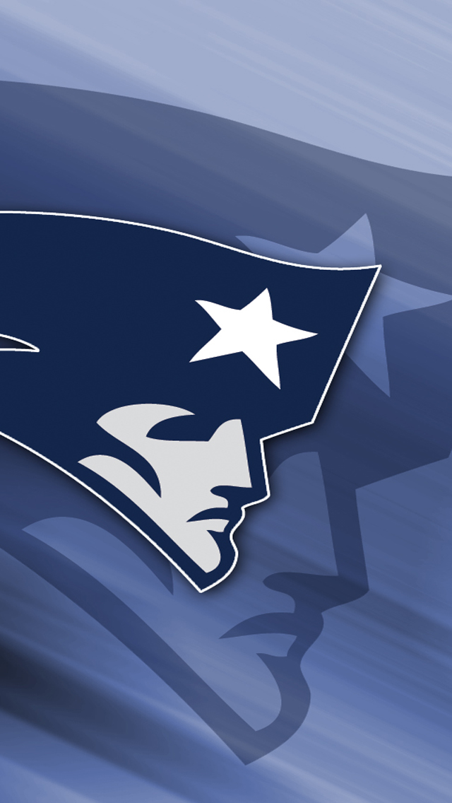 nfl wallpapers new england patriots logo iphone wallpapers 08jpg 640x1136