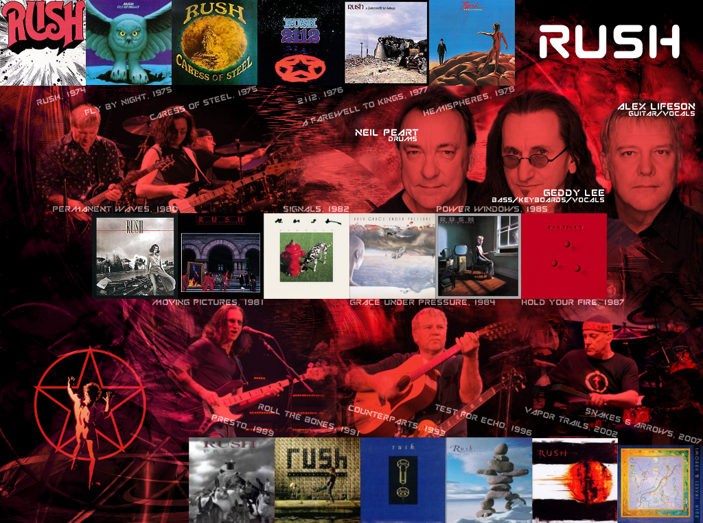 Rush Band Blog Wallpaper 1024x763
