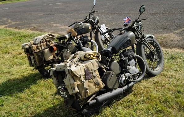 Wallpaper motorcycles WDM20 military WM20 BSA images 596x380