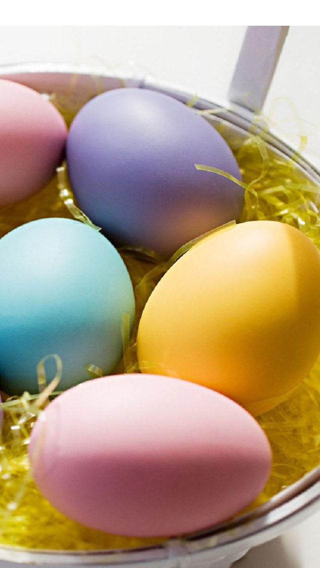 Easter Eggs Ideas   Download Easter Eggs iPhone 5 HD Wallpapers 640x1136