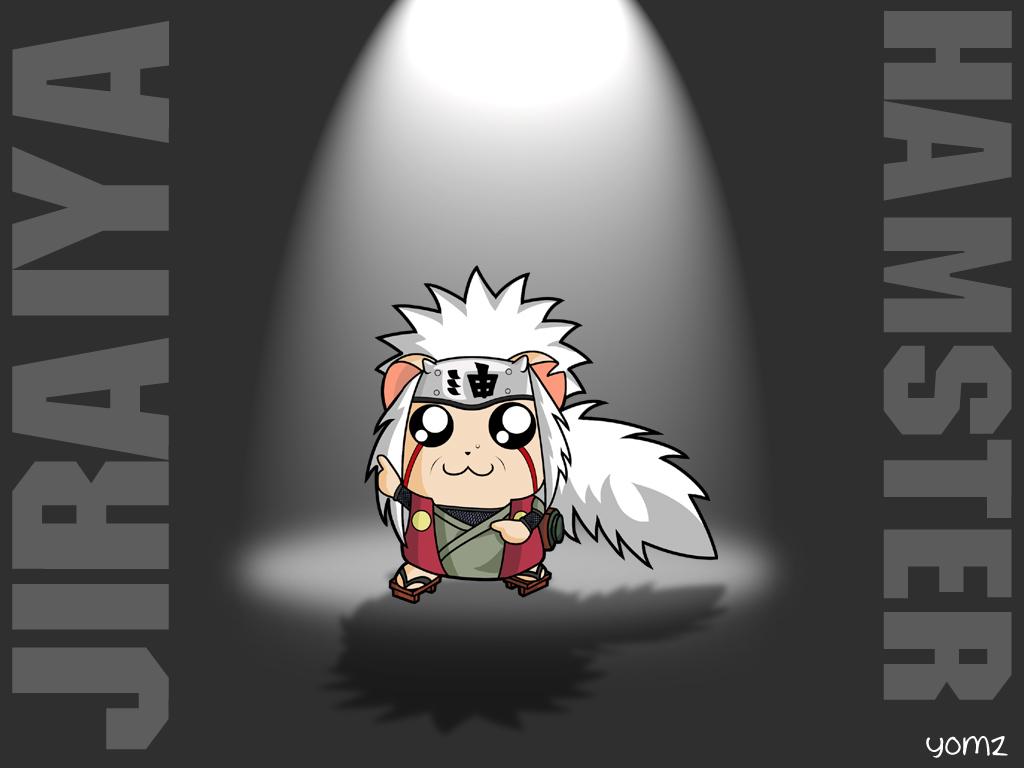 Cute Jiraiya Hamster Wallpaper 1024x768