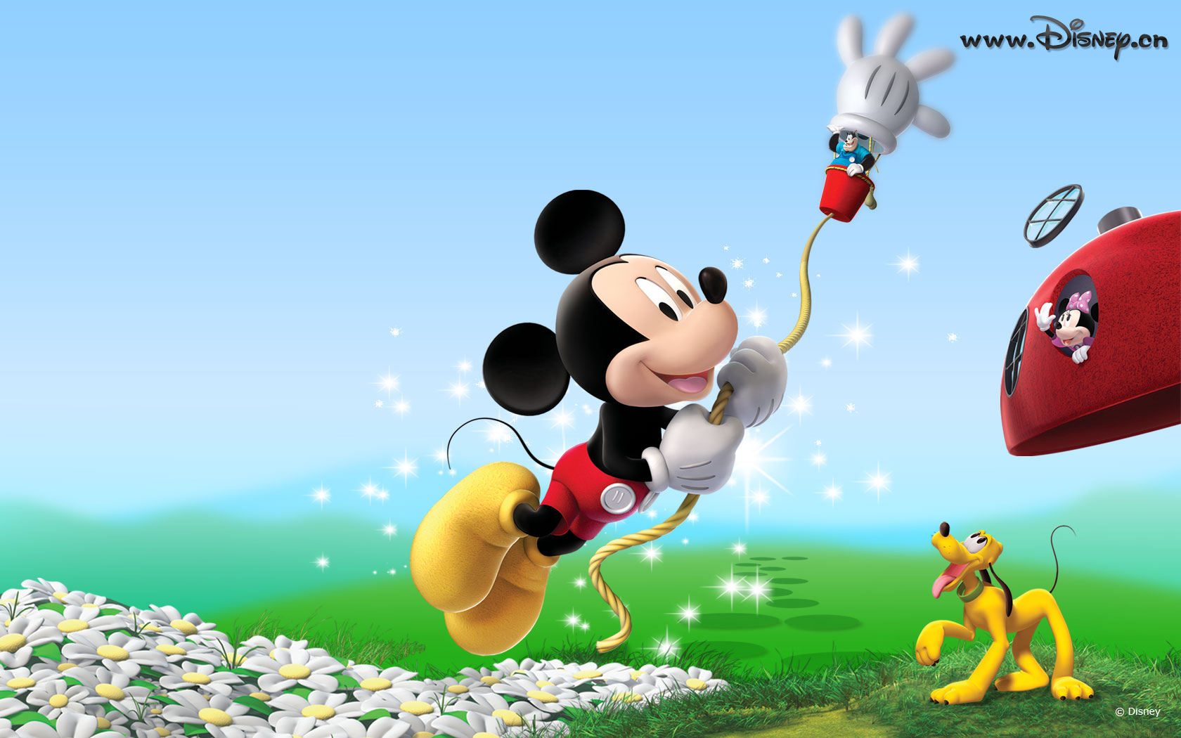Cartoon Wallpapers Mickey Mouse Wallpaper 03 1680x1050