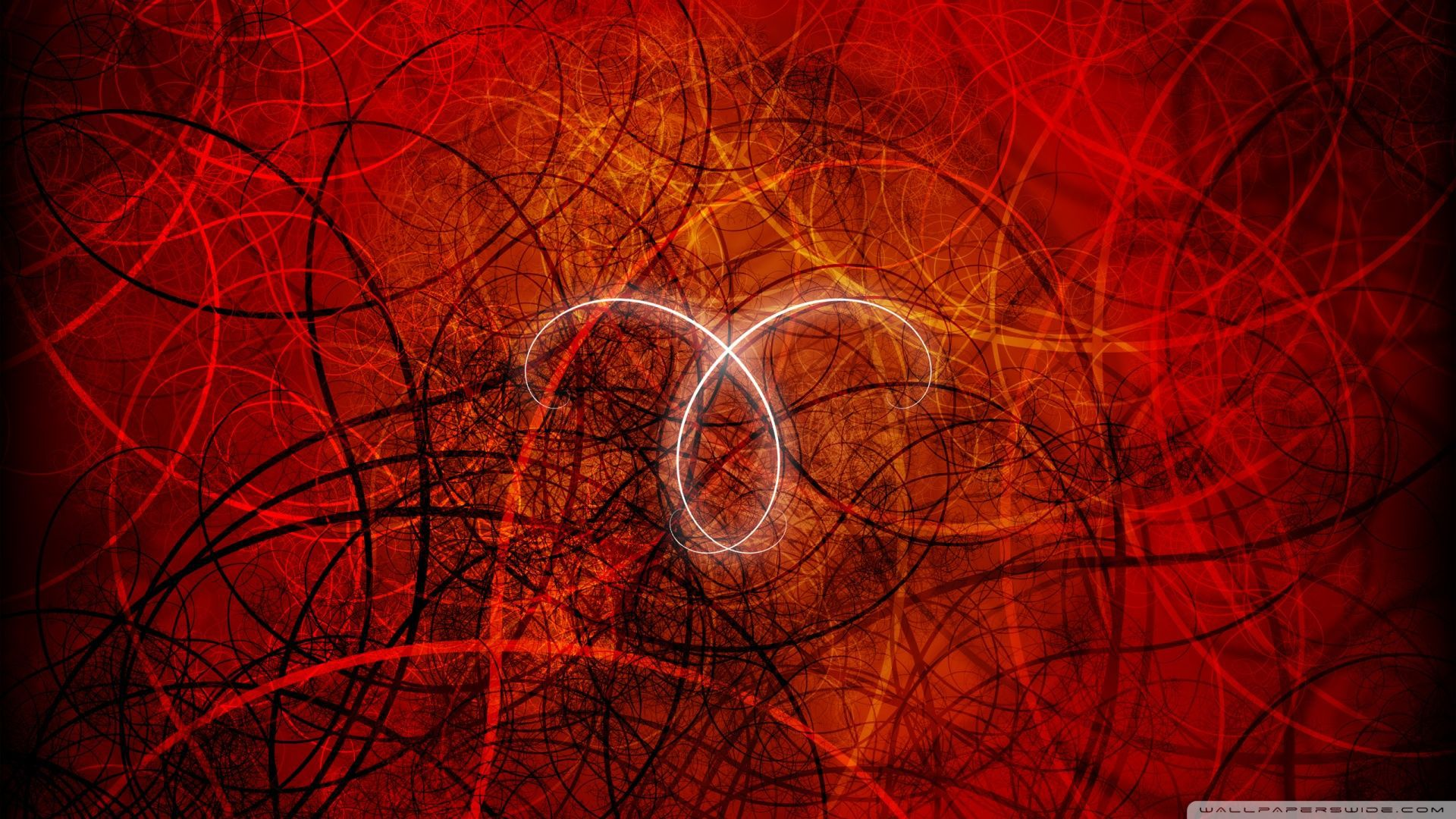 Aries sign in red wallpapers and images   wallpapers 1920x1080