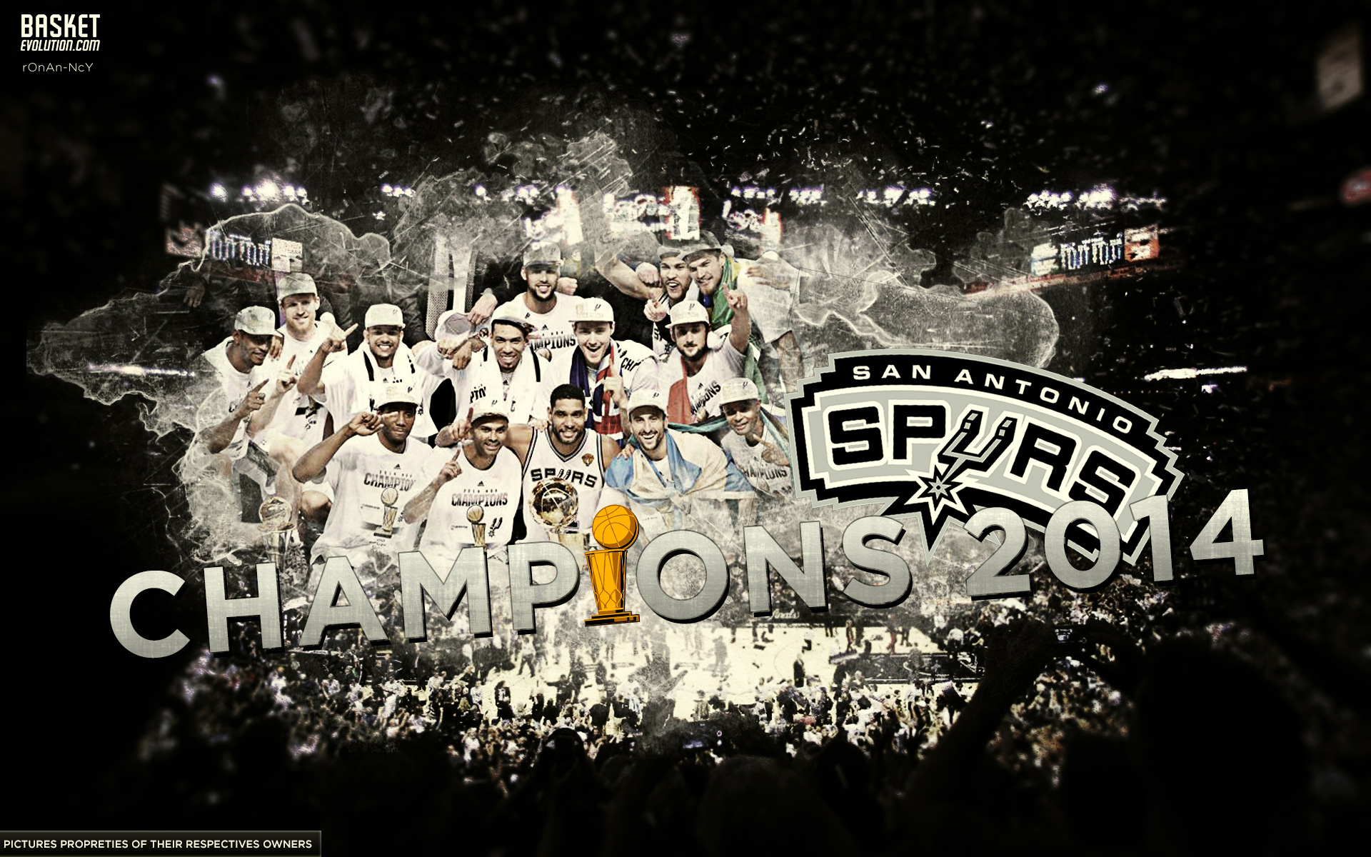 47 San Antonio Spurs Desktop Wallpaper On Wallpapersafari