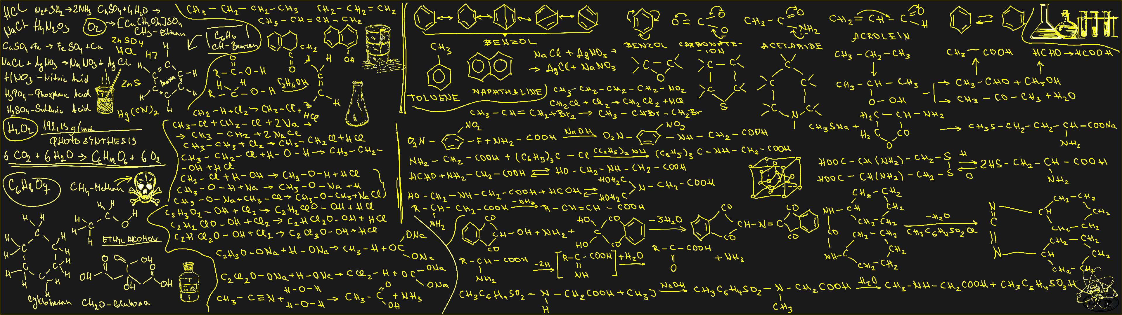 Organic Chemistry Wallpaper - WallpaperSafari