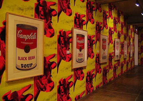pictures Warhol Desktop Wallpapers Cow Wallpaper Andy Warhol 500x355