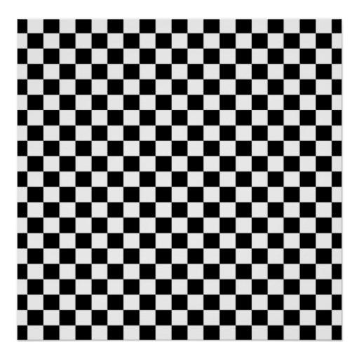 Checkered Wallpaper: Black And White Check Wallpaper